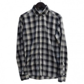 MAISON KITSUNÉ - BLOCK CHECK SHIRT