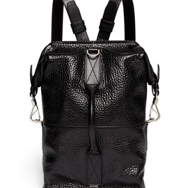 ALEXANDER WANG - Opanca boxy leather backpack