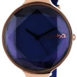 rumba time - RumbaTime Women's 817466015666 Orchard Gem Sapphire Stylish Analog Watch