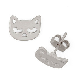 modcloth - Cat in the Act Earrings