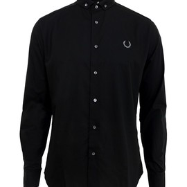 RAF SIMONS X FRED PERRY - shirt / black