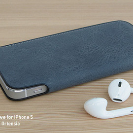 rethink - Lim Phone Sleeve Nebbia for iPhone 5