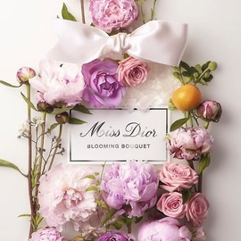 flower - miss dior parfum bottle