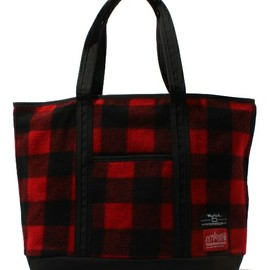 Manhattan Portage - US WOOLRICH Fabric Totebag L