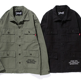 Stussy - Stussy for Schoot NYC -  Directive Jackets