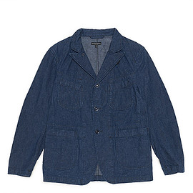 ENGINEERED GARMENTS - Bedford Jacket-11oz Cone Denim-Indigo