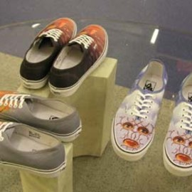 Blow to the Heart Vans Canvas Sneakers