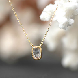 2mm Rosecut Diamond Necklace