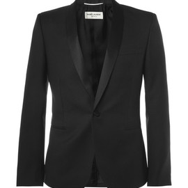 Saint Laurent - Slim-Fit Wool Tuxedo Blazer