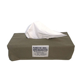 PUEBCO - LAMINATED FABRIC TISSUE BOX COVER