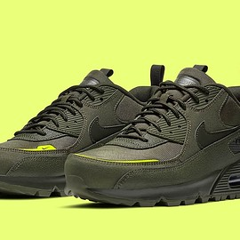 NIKE - Air Max 90 Surplus - Cargo Khaki/Sequoia/Lemon Venom