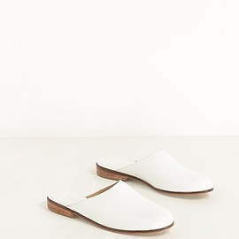 Martiniano - WHITE MULLER SLIP-ON
