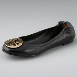 TORY BURCH - Nappa Leather Reva Ballet Flats