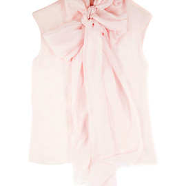 GIAMBATTISTA VALLI - Mussola Kimono Shirt With Bow