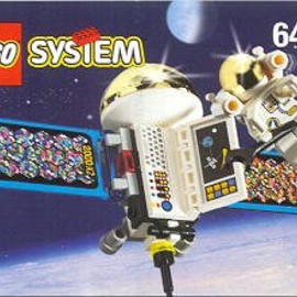 LEGO - Satellite with Astronaut レゴ 宇宙飛行士