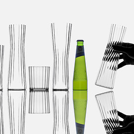 shiro studio design - the latest glassware set
