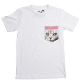 OFWGKTA - CAT POCKET TEE WHITE