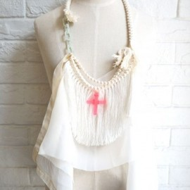 sowa - sowa  GHOST AND ME necklace opera POP