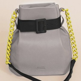 Matter Matters - Bucket Shoulder Bag - Grey