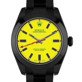 ROLEX - Brad Goreski Customized Milgauss Watch