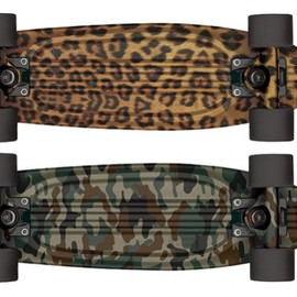 GLOBE - Bantam S.T. Cruiser Skateboards   Jungle Pack