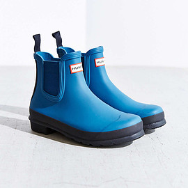 Hunter - Hunter Original Two-Tone Chelsea Rain Boot