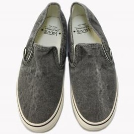 VANS - 『SLIP-ON DECON CA』(WASHED BLACK)