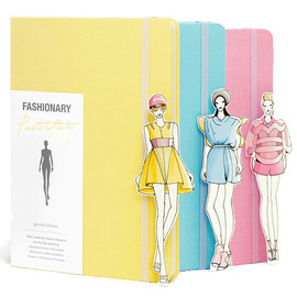 Fashionary - Fashionary notebook - Special Pastel Party Edition