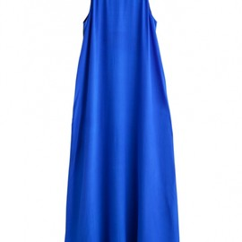 Weekday - MAXI DRESS BLUE