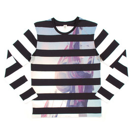 graniph - Print on Border Long Sleeve(London Flag)