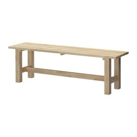 IKEA - NORDEN Bench IKEA Solid wood, a hardwearing natural material.