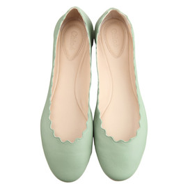 Chloe - Scalloped Ballet Flats