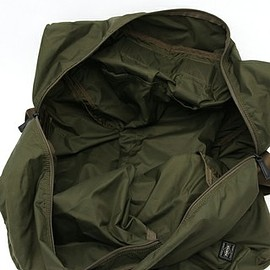 PORTER - Packable Boston Bag - Olive