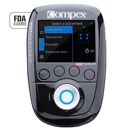 Compex - COMPEX WIRELESS USA 2.0 MUSCLE STIMULATOR KIT WITH TENS