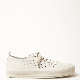 ANN DEMEULEMEESTER - Scamosciato Eyelet Sneakers