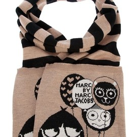 MARC BY MARC JACOBS - Striped scarf