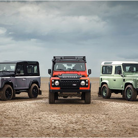 LAND ROVER - LAND ROVER DEFENDER CELEBRATION SERIES