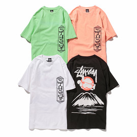 Stussy - Japonism Skate Tee | White, Black, Neon Green, Flash Orange |