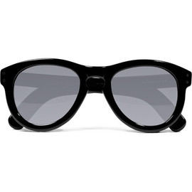 CUTLER AND GROSS - Black Rounded Acetate