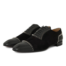 Christian Louboutin - Mr Blake Flat Calf-BLACK