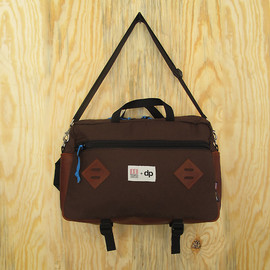Topo Designs  x doanepaper - mountain briefcase