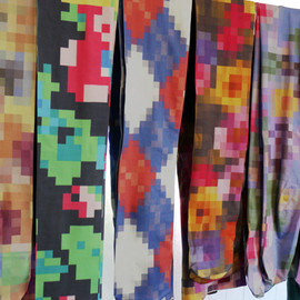 Anrealage - 8-bit tights by anrealage