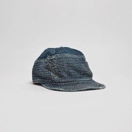 Kapital - Kogin Blue Washed Country Cap