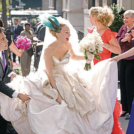 SATC - wedding dress