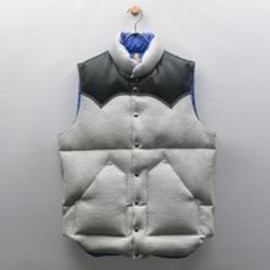 Rocky Mountain Featherbed & LOOPWHEELER - DOWN VEST