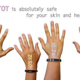 Ritot - the first projection watch.