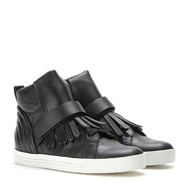 Marc Jacobs - Leather High-top Sneakers