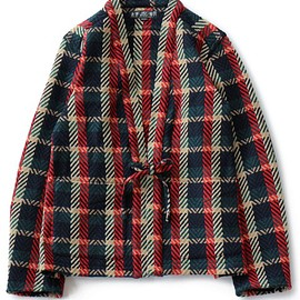 bal - Plaid KARATE Wool Jacket (multi)
