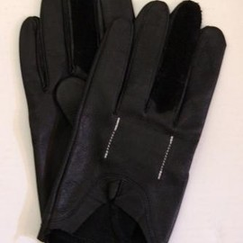 TAKAHIROMIYASHITA The SoloIst. - driver glove. -color.black.-