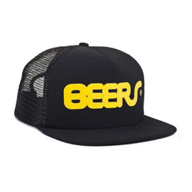 HUF - BEERS TRUCKER SNAP BACK (Black)